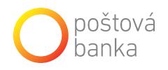 Logo Poštová banka, a.s.